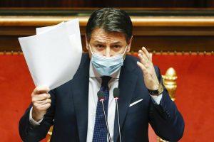 Perdana Menteri Conte Turun Tangan Sendiri